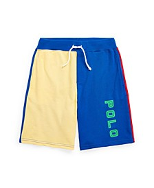 Big Boys Color-Blocked Spa Terry Shorts