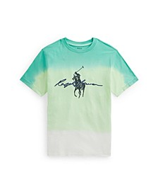Big Boys Dip-Dyed Jersey Graphic T-shirt