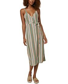 Juniors' Sloan Striped Midi Dress