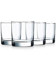 Aristocrat 10.25 oz On The Rocks Glasses, Set of 4
