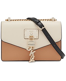 Elissa Small Leather Flap Shoulder Bag, Created for Macy's