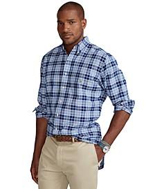 Men's Big & Tall Plaid Oxford Shirt