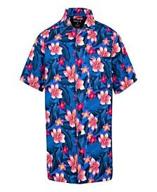 Little Boys Hawaiian Button Up Shirt