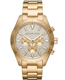 Men's Layton Gold-Tone Stainless Steel Bracelet Watch 45mm