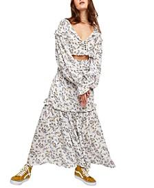 Secret Garden 2-Pc. Cotton Blouse & Skirt Set