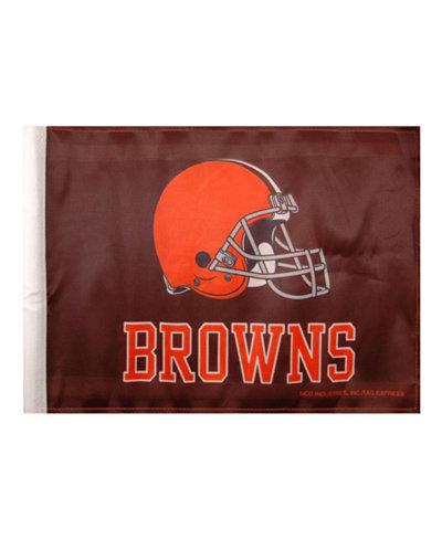 Rico Industries Cleveland Browns Car Flag