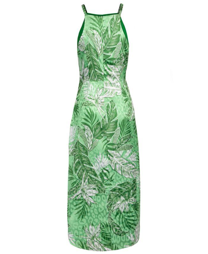 RACHEL Rachel Roy Keyhole Printed Dress & Reviews - Dresses - Women - Macy's