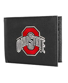 Ohio State Buckeyes Black Bifold Wallet