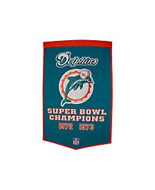 Winning Streak Miami Dolphins Dynasty Banner