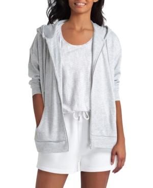 Women's Long Sleeve Zip Front Hoodie