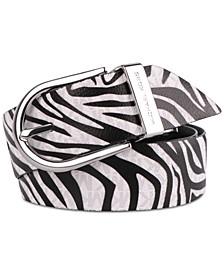 Reversible Zebra Belt