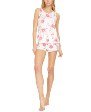 Livia Ribbed Cami & Shorts Pajama Set