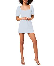 Berina Puff-Sleeve Bodycon Dress
