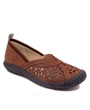 Women's Walnut Casual Slip On Women's Shoes