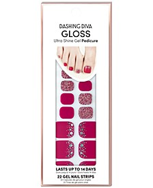 GLOSS Ultra Shine Gel Pedicure - Tickled Pink