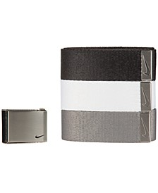 Men's 3-Pk. Web Belts