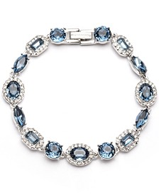 Crystal Halo Flex Bracelet