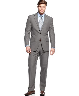MICHAEL Michael Kors Grey Mini-Stripe Suit Separates