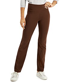 Yoga Bootcut Leggings, Created for Macy's