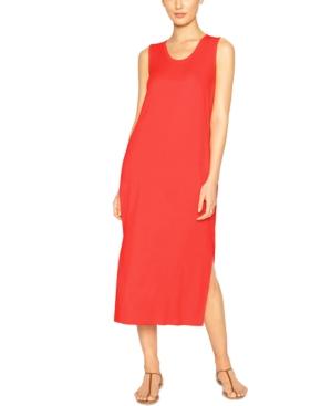 Side-Slit Sleeveless Dress
