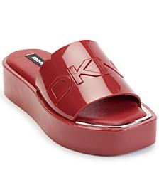 Women's Laren Platform Slide Sandals
