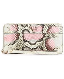 Katey Large Zip-Around Wallet