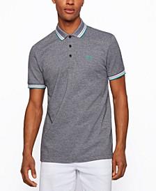 BOSS Men's Cotton-Piqué Polo Shirt