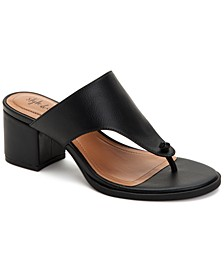 Kinsleyy Thong Dress Sandals, Created for Macy's