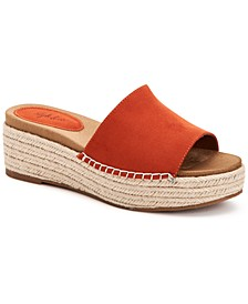 Keiraa Slip-On Wedge Sandals, Created for Macy's