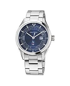 Men's N83 Analog Silver-Tone Stainless Steel Bracelet Watch 40 mm