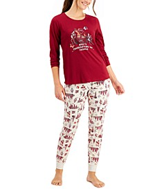 Matching Women's Macy's Thanksgiving Day Parade Family Pajama Set, Created for Macy's