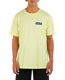 Men's Evd Washed One And Only Boxed Solid Tee Fb Short Sleeve T-Shirt