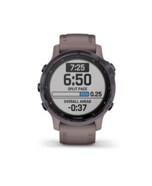 Unisex Fenix 6S Pro Solar Adventure Shale Silicone Strap Smart Watch 30.4mm
