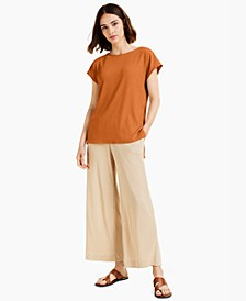 Ribbed High-Low Tunic, Created for Macy's