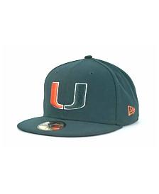 New Era Miami Hurricanes 59FIFTY Cap