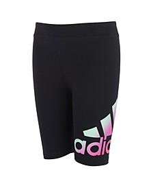 Big Girls Graphic Bike Shorts
