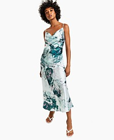 Akilina Printed Midi Dress