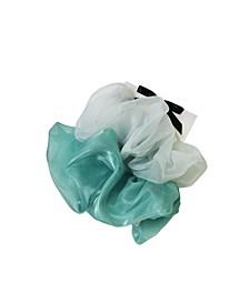 Lucy 2-Pk. Mint Oversized Scrunchies