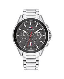 Men's Stainless Steel Bracelet Watch 44mm