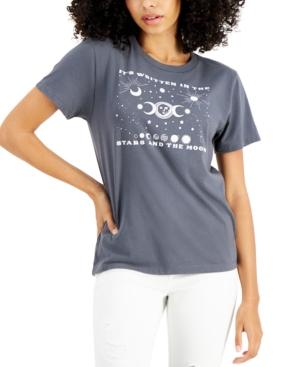 Juniors' Celestial Short-Sleeve T-Shirt