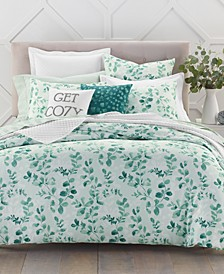 Design Eucalyptus Comforter Sets, Created for Macy's