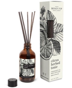 Citrus Herbed Tonic Fragrance Oil Reed Diffuser