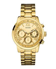 Women's Gold-Tone Multi-function Watch 42mm