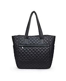 Women's No Filter Quilted Tote Bag