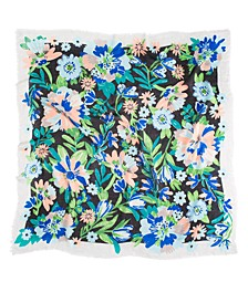 Full Bloom Large Square Scarf