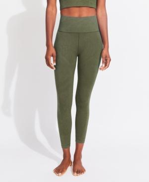 Women's Ribbed Directional Seamless Leggings