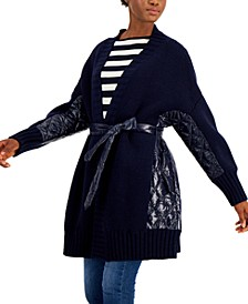 Mixed Quilt Sahara Cardigan Jacket