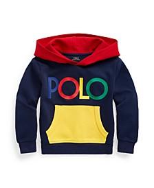 Little Boys Logo Color-Blocked Double-Knit Hoodie