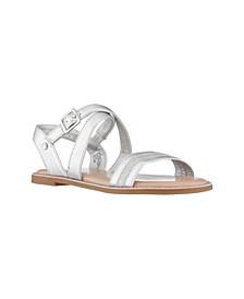Little Girls Brianne Glitter Sandals