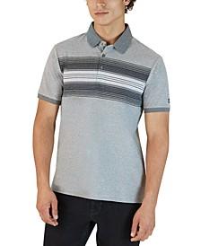 Men's Novelty Ombré Stripe Polo Shirt